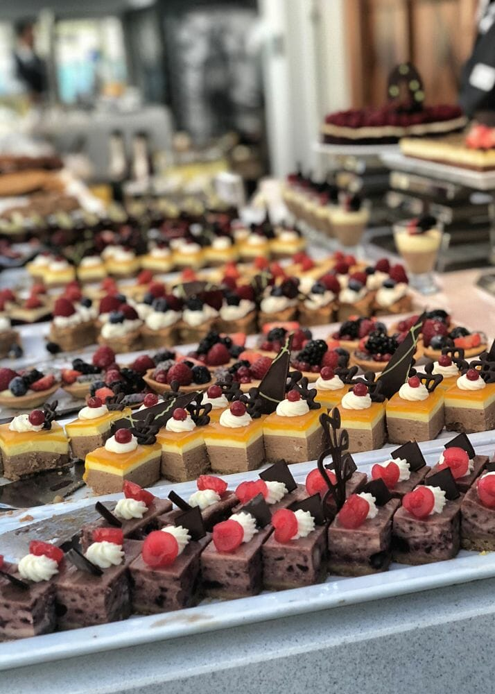 Cakes at an event