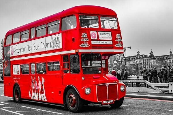 <h3>Afternoon tea red bus</h3>