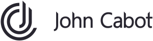 John Cabot black logo