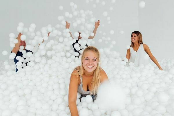 <h3>Ball pit for adults</h3>