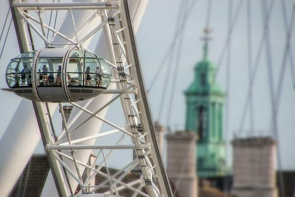 <h3>Champagne on the London Eye</h3>